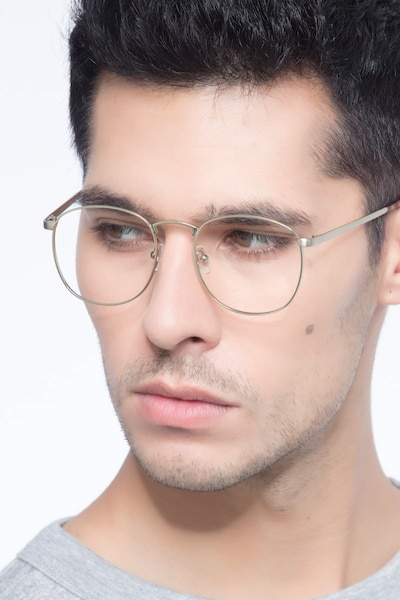 St Michel Bronze Metal Eyeglass Frames for Men from EyeBuyDirect