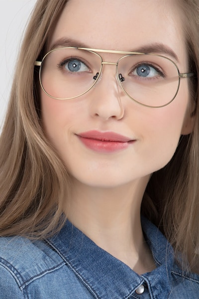 Discover Bronze Metal Eyeglass Frames for Women from EyeBuyDirect