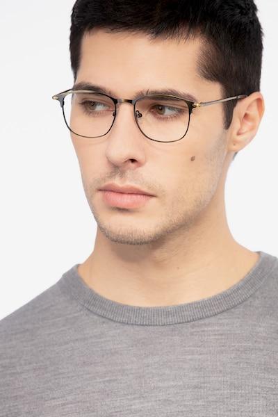 Cella Bronze Metal Eyeglass Frames for Men from EyeBuyDirect