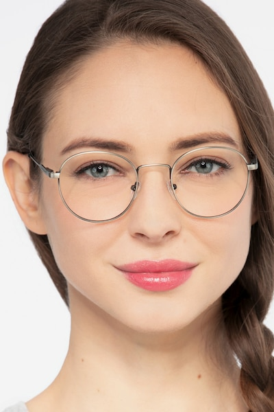 Memento Pink Golden Metal Eyeglass Frames for Women from EyeBuyDirect