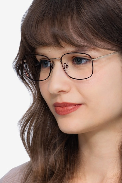 Tampa Red Metal Eyeglass Frames for Women from EyeBuyDirect