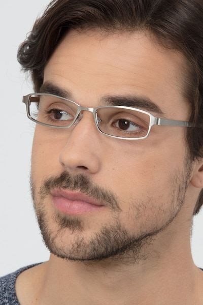 Johanna  Gunmetal  Metal Eyeglass Frames for Men from EyeBuyDirect