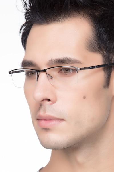 Mel  Silver  Métal Montures de Lunettes pour Hommes d'EyeBuyDirect