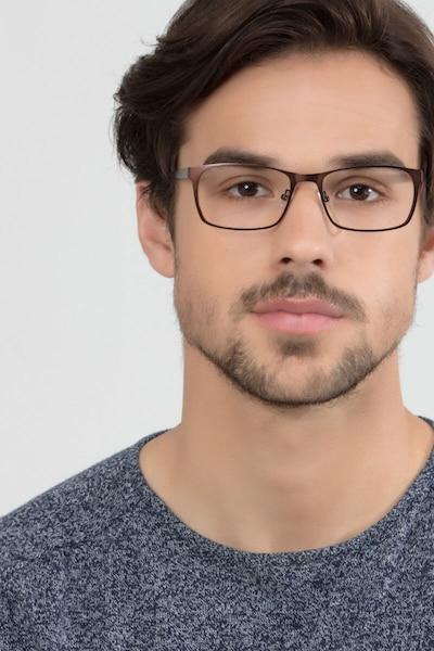 Dublin Coffee Metal Eyeglass Frames for Men from EyeBuyDirect