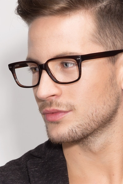 John Brown Acetate Eyeglass Frames for Men from EyeBuyDirect