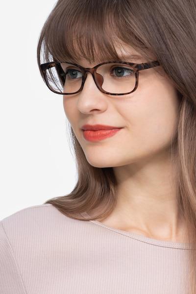 Sutherlin Ecaille Plastique Montures de Lunettes pour Femmes d'EyeBuyDirect