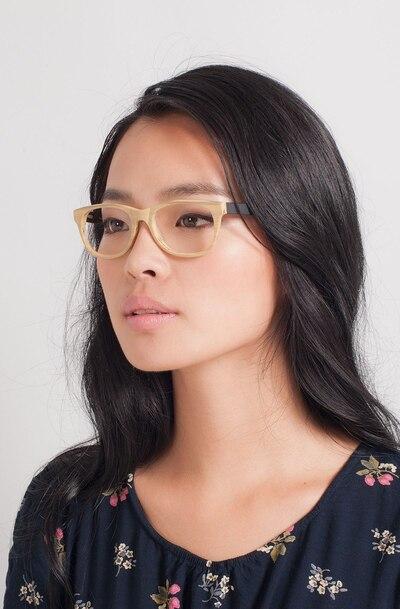 Panama Wood Acetate Eyeglass Frames for Women from EyeBuyDirect