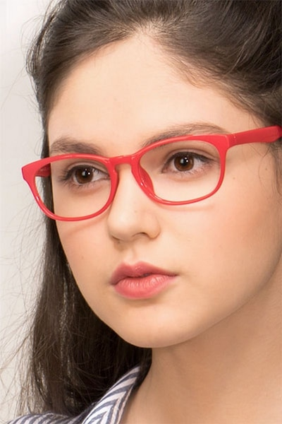 Drums  Red  Plastic Eyeglass Frames for Women from EyeBuyDirect