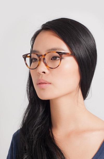 Morning Écailles Acétate Montures de Lunette de vue pour Femmes d'EyeBuyDirect