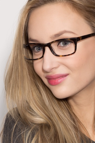 Opal Tortoise Acetate Eyeglass Frames for Women from EyeBuyDirect