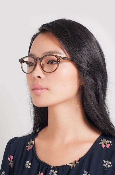 Instant Crush Léopard Plastique Montures de Lunettes pour Femmes d'EyeBuyDirect