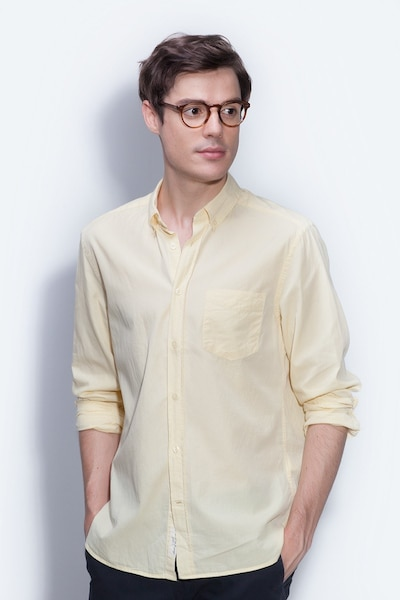 70066a97456a Theory Cognac Acetate Eyeglass Frames for Men from EyeBuyDirect, Front View
