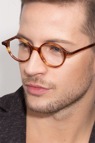 Flavor Tortoise Acetate Eyeglass Frames for Men from EyeBuyDirect