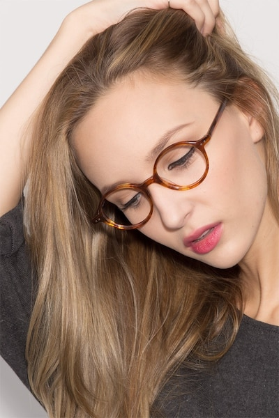 Flavor Tortoise Acetate Eyeglass Frames for Women from EyeBuyDirect