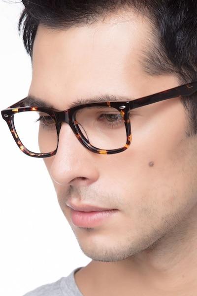 Sam Écailles Acétate Montures de Lunettes pour Hommes d'EyeBuyDirect