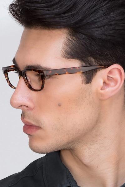 Fairmount Écailles Acétate Montures de Lunettes pour Hommes d'EyeBuyDirect