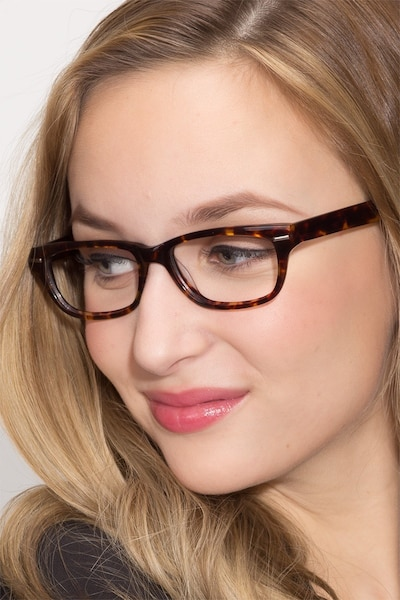 Fairmount Tortoise Acetate Eyeglass Frames for Women from EyeBuyDirect