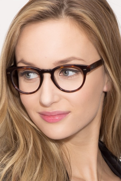 Oversea  Tortoise  Acetate Eyeglass Frames for Women from EyeBuyDirect