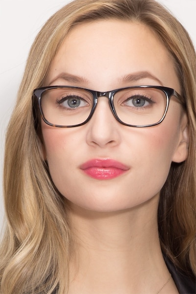 Wildfire Tortoise Acetate Eyeglass Frames for Women from EyeBuyDirect