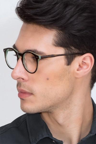 Neptune Écailles Acétate Montures de Lunettes pour Hommes d'EyeBuyDirect