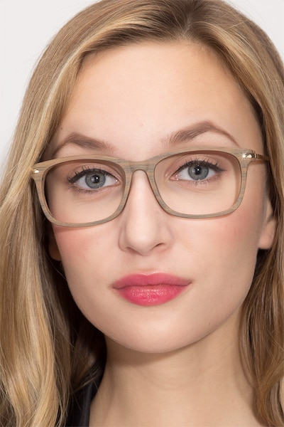 Phase Brown Acetate Eyeglass Frames for Women from EyeBuyDirect