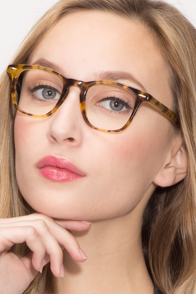Together Tortoise Acetate Eyeglass Frames for Women from EyeBuyDirect