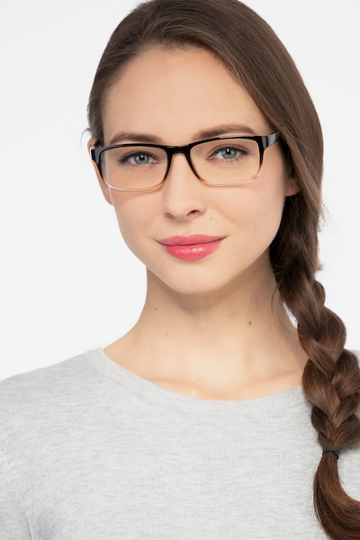 Firefly Brown  Plastic Eyeglass Frames for Women from EyeBuyDirect, Front View