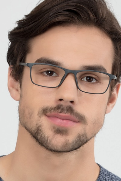 Sullivan Ash Plastic Eyeglass Frames for Men from EyeBuyDirect