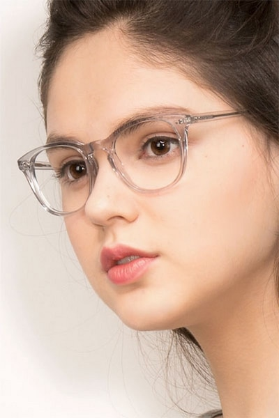 New Day Clear Acetate Eyeglass Frames for Women from EyeBuyDirect