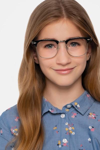 Little Coexist Black Plastic-metal Eyeglass Frames for Women from EyeBuyDirect