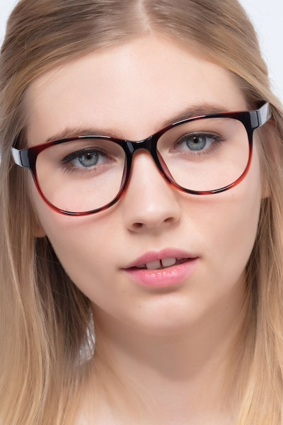 Warren Brown Plastic Eyeglass Frames for Women from EyeBuyDirect