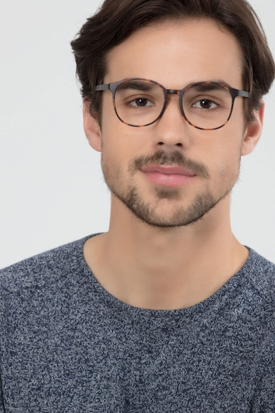 Days Matte Floral Plastic Eyeglass Frames for Men from EyeBuyDirect