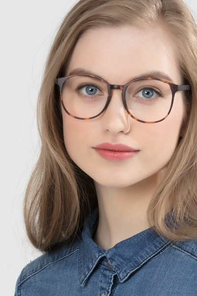 Days Matte Floral Plastic Eyeglass Frames for Women from EyeBuyDirect