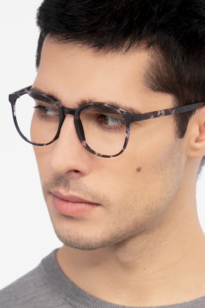 Days Floral Plastic Eyeglass Frames for Men from EyeBuyDirect