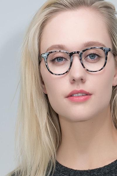 Aurora Flecked Ivory Acetate Eyeglass Frames for Women from EyeBuyDirect