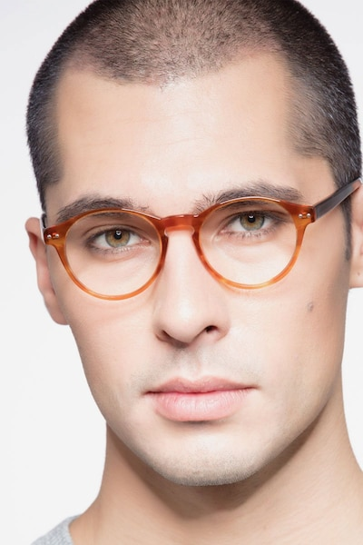 Method Brown Acetate Eyeglass Frames for Men from EyeBuyDirect