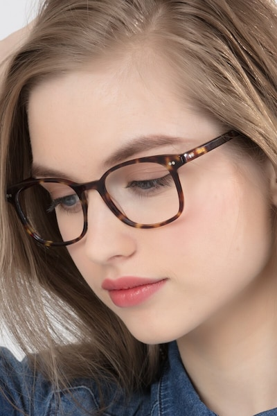 Lift Tortoise Acetate Eyeglass Frames for Women from EyeBuyDirect