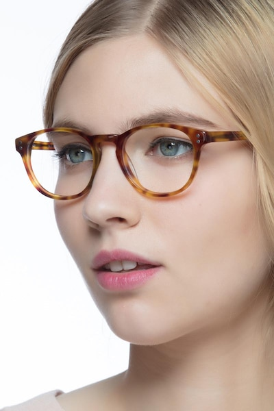 Split Tortoise Acetate Eyeglass Frames for Women from EyeBuyDirect
