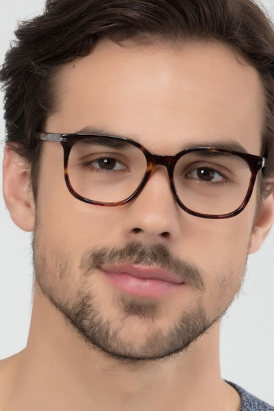 Absolutely Tortoise Acetate Eyeglass Frames for Men from EyeBuyDirect