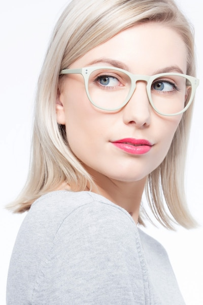 Legendary Green Plastic Eyeglass Frames for Women from EyeBuyDirect