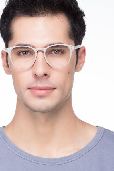 Myth Tan Plastique Montures de Lunettes pour Hommes d'EyeBuyDirect, Vue de Face