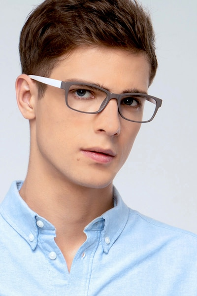Danny Brown Plastic Eyeglass Frames for Men from EyeBuyDirect, Front View