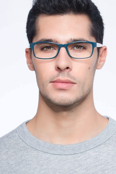 Danny Green Plastic Eyeglass Frames for Men from EyeBuyDirect, Front View