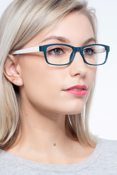 Danny Green Plastic Eyeglass Frames for Women from EyeBuyDirect, Front View