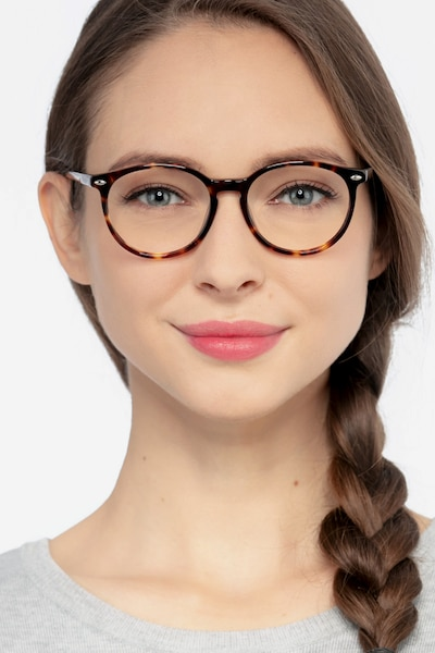 Blink Tortoise Acetate Eyeglass Frames for Women from EyeBuyDirect