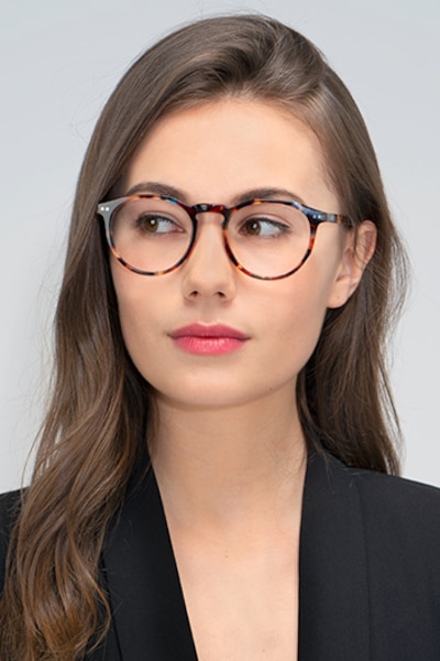 Planete Floral Acetate Eyeglass Frames for Women from EyeBuyDirect