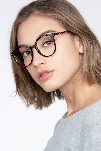 Noun Écailles Plastique Montures de Lunettes pour Femmes d'EyeBuyDirect, Vue de Face