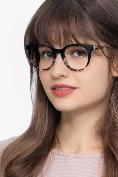 Rialto Black Tortoise Acetate Eyeglass Frames for Women from EyeBuyDirect