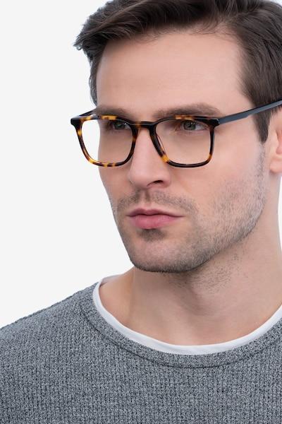 Phoenix Écailles Acétate Montures de Lunettes pour Hommes d'EyeBuyDirect