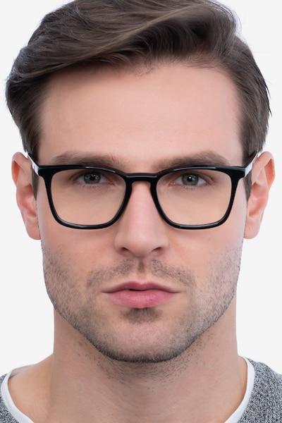 Phoenix Black Tortoise Acetate Eyeglass Frames for Men from EyeBuyDirect